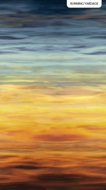 "New! The View From Here - Sand and Sky - per panel - 43""x28"" - by Northcott Studio - North Shores - 23407-42 - RebsFabStash"