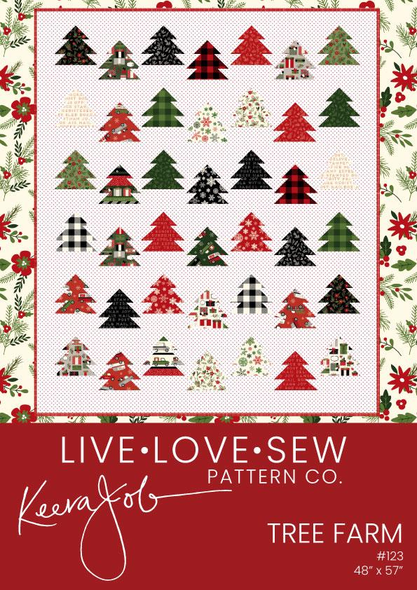 New! Tree Farm - PATTERN - designed by Keera Job - Live Love Sew Pattern Co. - RebsFabStash