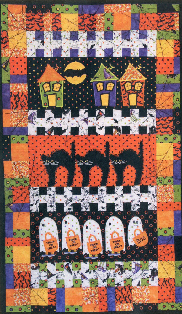 New! Tricks & Treat - PATTERN - Smith Street Designs - An Embroidery Machine Pattern - Includes CD! - RebsFabStash