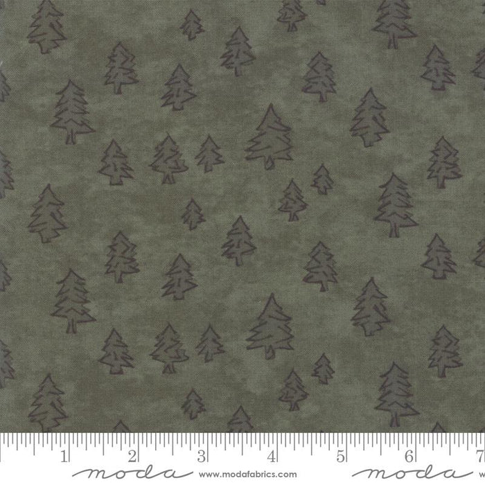 "New! Winter White - Fat Eighth Bundle - (34) 9"" x 21"" pieces - by Holly Taylor for MODA - cream, burgundy, dark green, browns - RebsFabStash"