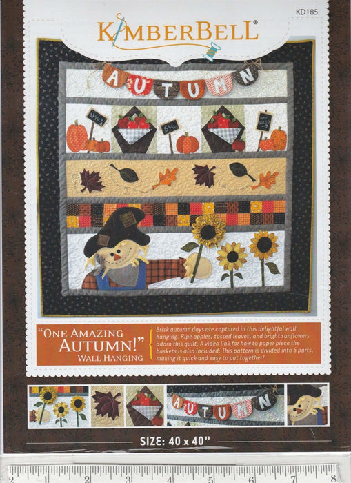 One Amazing Autumn - Pattern - by Kimberbell Designs - RebsFabStash