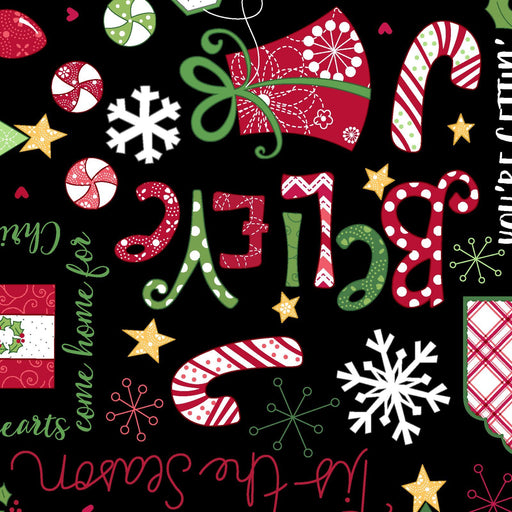 PREORDER! Jingle All the Way - Quilt Backing Kit - BACKING ONLY! - Kimberbell - Maywood Studios - Christmas Quilt - 3.5 yd Backing - RebsFabStash