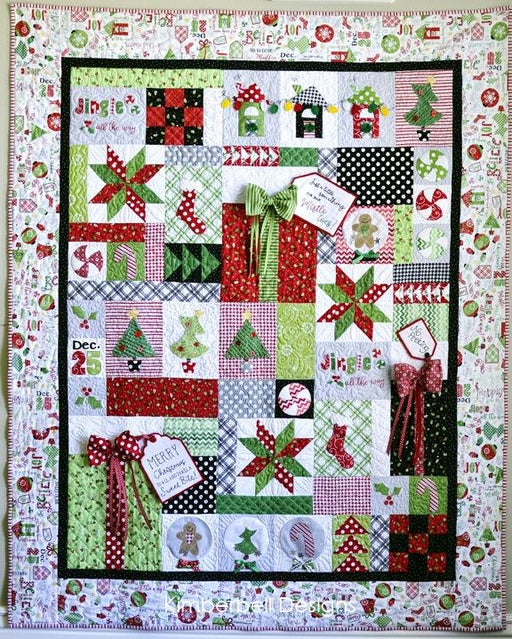 PREORDER! Jingle All the Way - Quilt KIT - Kim Christopherson - Kimberbell - Maywood Studios - Christmas Quilt - RebsFabStash