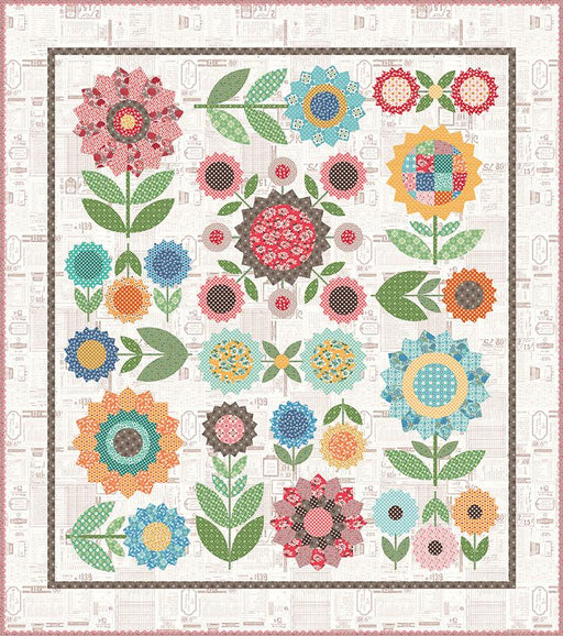 PREORDER! Lori Holt FLEA MARKET Sew Along QUILT KIT - FLEA MARKET fabrics - Riley Blake - Options for backing! Expected to ship DECEMBER 2020! - RebsFabStash