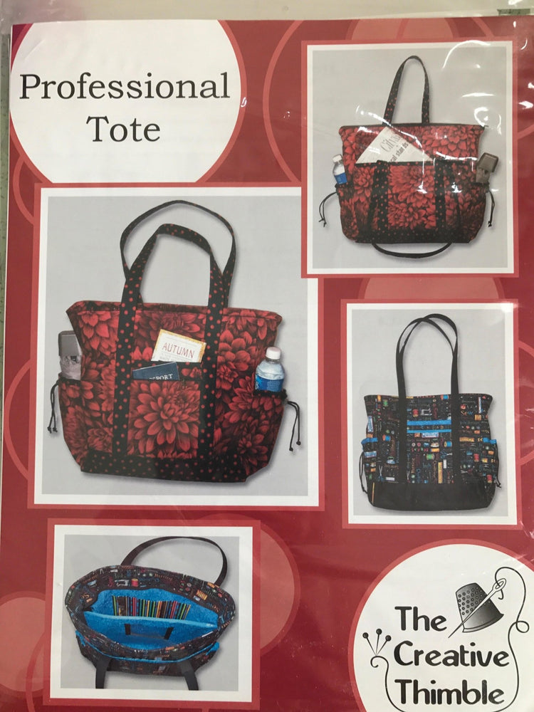 Professional Tote Pattern by The Creative Thimble Designed by Laura Martell - C - RebsFabStash