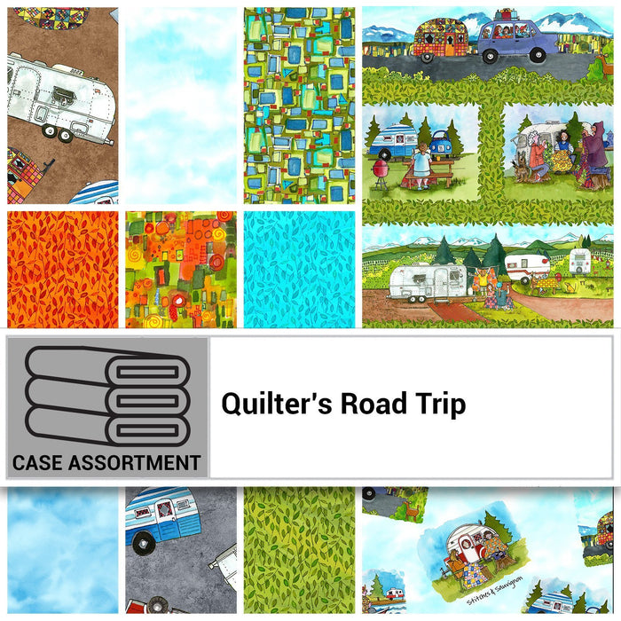 Quilt Trip'N Quilt Kit - Quilter's Road Trip by Maywood - Kathy Deggendorfer - Camping! Outdoors! Adventures! - Mimi Hollenbaugh, Pat Syta - RebsFabStash