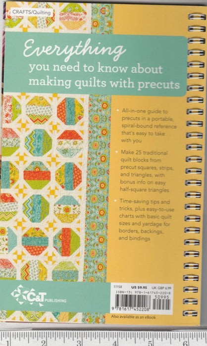 Quilter's Precut Companion - Spiral Bound - Reference Tool - RebsFabStash