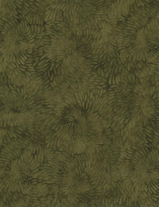 Raindrop Spiral - Olive - per yard - Tapestry Collection by Wing and a Prayer for Timeless Treasures - Olive Green - JT-C6058 - RebsFabStash