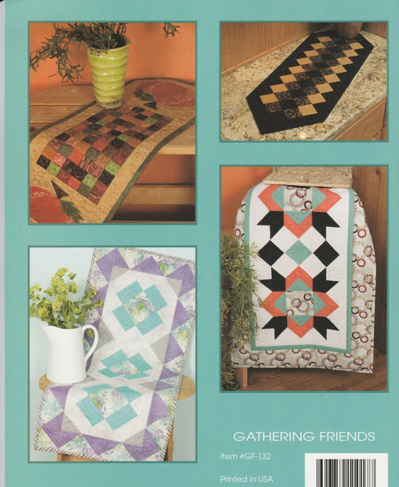 Runners Rock - Book/Patterns - by Gathering Friends - Awesome Runners! - RebsFabStash