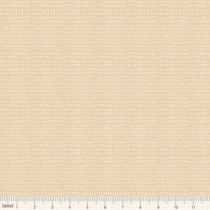 Seeds Cotton - per yard - Cori Dantini - Blend Fabrics - SEWWW Cute! White Seeds on Light Pink - Basics - 112.114.01 - RebsFabStash