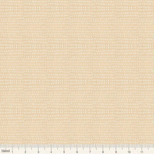 Seeds Craft - per yard - Cori Dantini - Blend Fabrics - SEWWW Cute! White Seeds on Tan - Basics - 112.114.13 - RebsFabStash