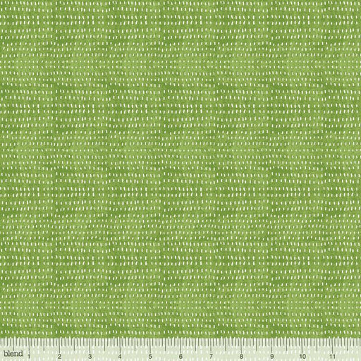 Seeds Fern - per yard - Cori Dantini - Blend Fabrics - SEWWW Cute! White Seeds on Light Green - Basics - 112.114.07 - RebsFabStash