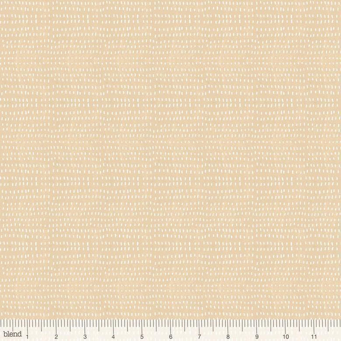 Seeds Grass - per yard - Cori Dantini - Blend Fabrics - SEWWW Cute! White Seeds on Green - Basics - 112.114.08 - RebsFabStash