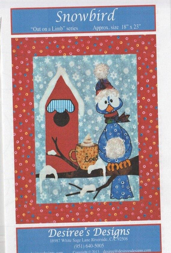 Snowbird - Fall for All - Quilt Pattern - Out on a Limb Series by Desiree's Designs - RebsFabStash