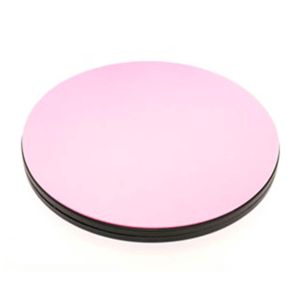 "Sue Daley Designs - ROTATING Pink Cutting Mat (Small) 10"" diameter- Lori Holt loves these!- Riley Blake Designs - Great for cutting circles!! - RebsFabStash"