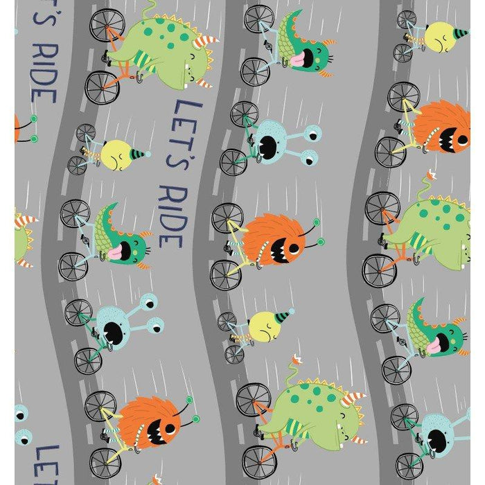 Super Bad Monsters - Clothworks - (15) Fat Quarters - C - RebsFabStash