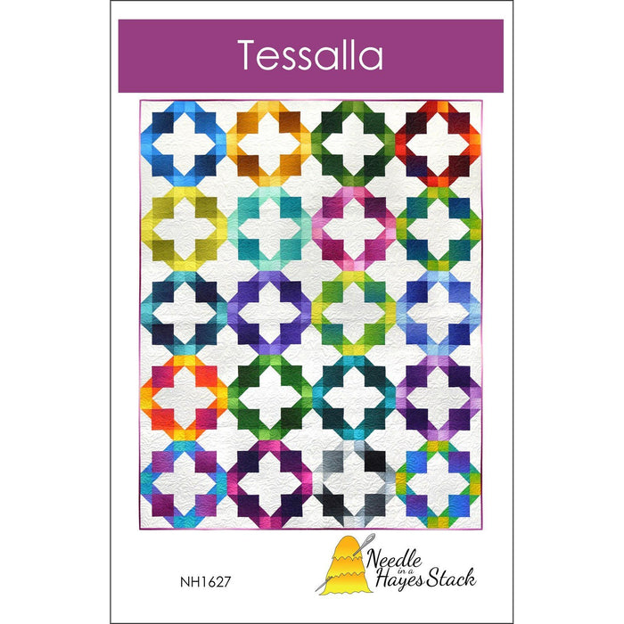 Tessalla # NH1627 - Quilt pattern - Gelato ombre fabrics - Maywood or Moda - Tiffany Hayes - Needle in a Hayes Stack - C - RebsFabStash