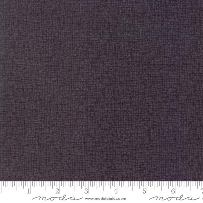 Thatched - per yard - MODA - by Robin Pickens - Weave Tonal GRAPHITE - 48626-116 - RebsFabStash