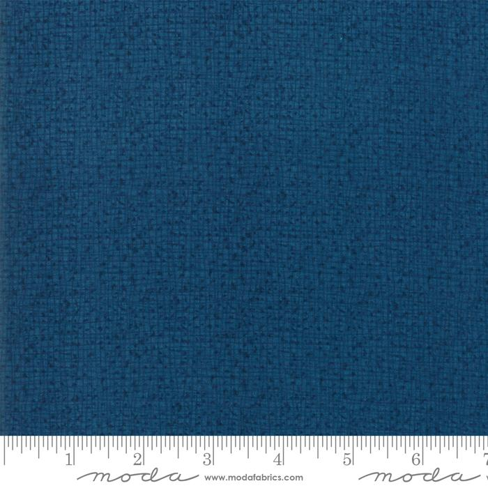 Thatched - per yard - MODA - by Robin Pickens - Weave Tonal NAVY - 48626-94 - RebsFabStash
