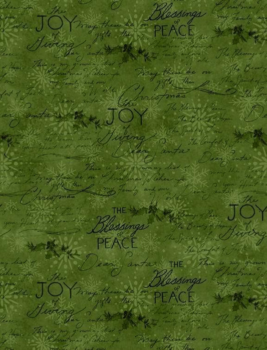 The Joy of Giving - Tiny Stars & Dots on RED - per yard - Wilmington Prints - Christmas, Holiday - 39608-317 - RebsFabStash