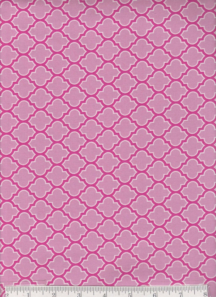 True Colors collection by Joel Dewberry - Free Spirit - Pattern Lodge Lattice, Color Fuschia - RebsFabStash