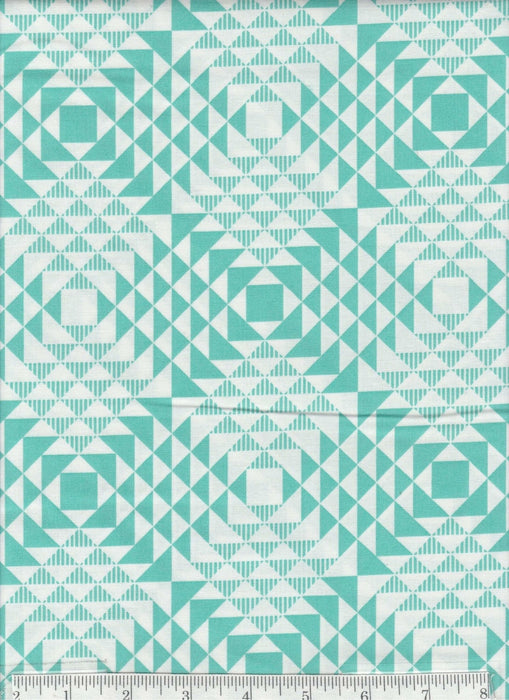 True Colors collection by Joel Dewberry - Free Spirit - Pattern Wood Grain, Color Aqua - RebsFabStash