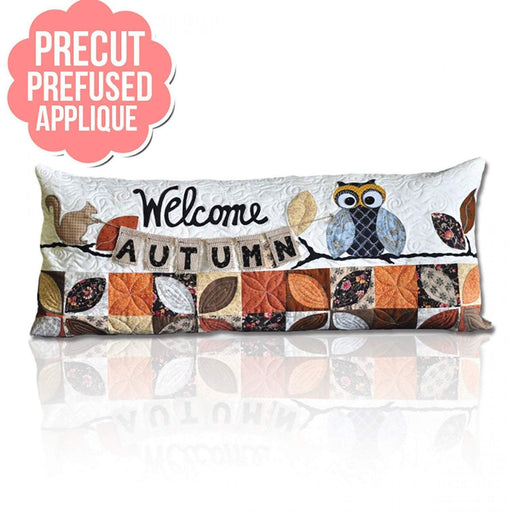 Welcome Autumn - PRE-FUSED Applique Kit- designed by Kimberbell - Interchangeable Covers and Bench Pillow - RebsFabStash