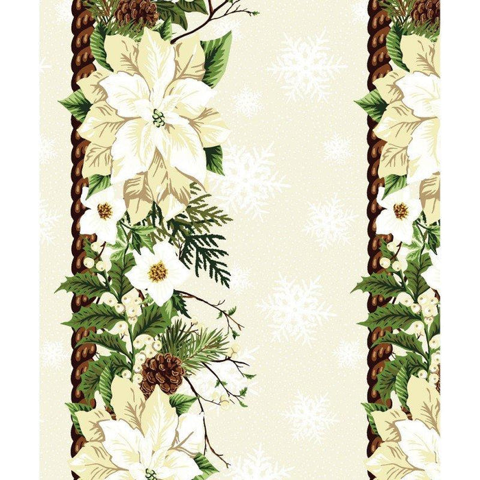 Winter Twist - Per Yard - In the beginning Fabrics by Jason Yenter - Bouquets on White - RebsFabStash