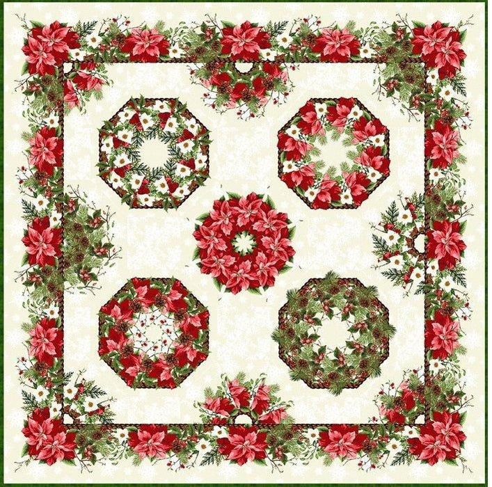 Winter Twist Quilt Pattern Book Includes Instructions For Quilt Tabl