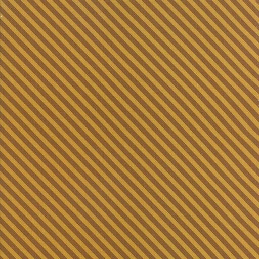 Woof Woof Meow - per yard - fabric by Stacy Iest Hsu for Moda - dogs, cats cute! - bias stripe gold 20569 13 - RebsFabStash