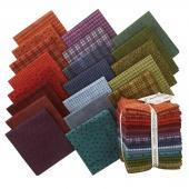 Woolies -FLANNEL Fat Quarter Bundle (20) - Maywood Studio - by Bonnie Sullivan - Colors - C - RebsFabStash