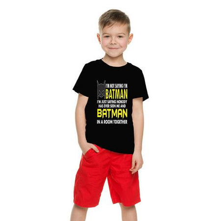 I'm Not Saying I'm Batman... Funny Kids T-Shirt