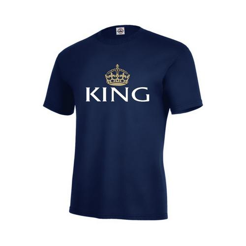 King-Men T-Shirt-Assorted Colors