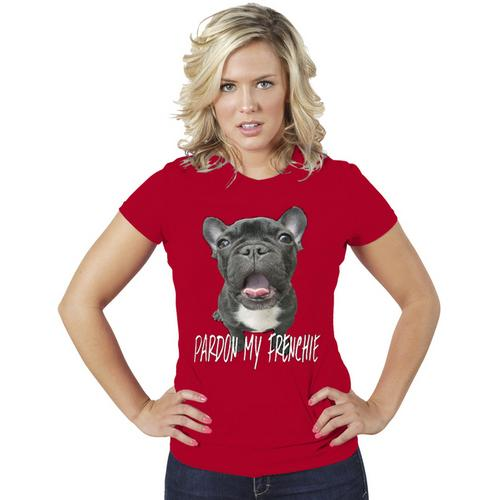 Pardon My Franchie Funny Women T-Shirt