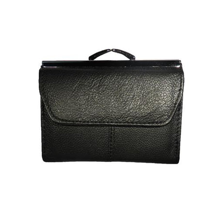 Leather Clutch - Snap Closure - Full Hide Leather Wallet