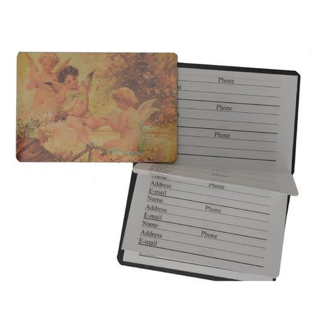 Magnetic Closure Accordion Style Classic Address book