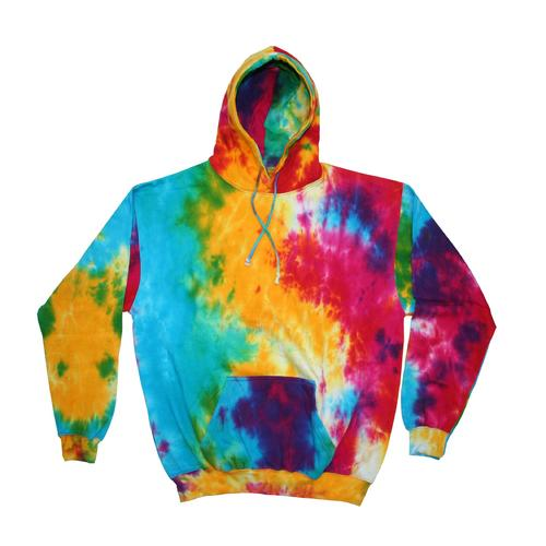 Tie-Dye Pullover Hoodies Assorted Colors, Sizes S-XXXL
