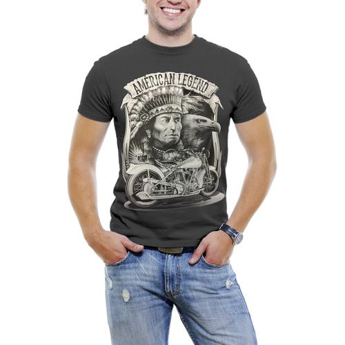 America Legend High Quality Large Graphic Print T-Shirts S-5XL