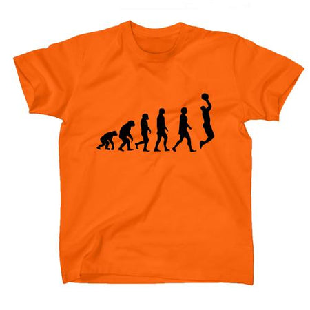 AFONiE Human Evolution Basketball Kids T-Shirt