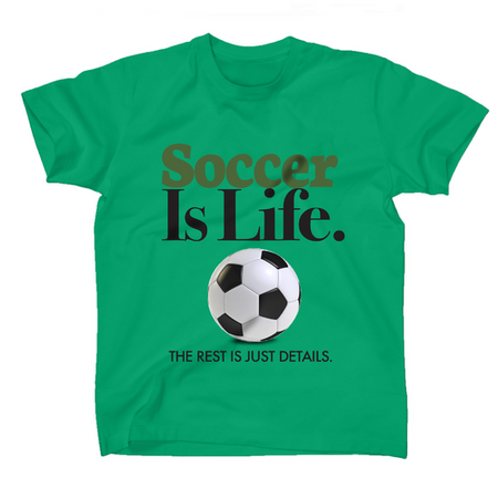 AFONiE Soccer Is Life Kids T-Shirt