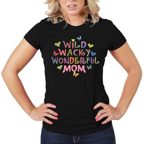 Wild Wacky Wonderful MOM Women T-Shirt