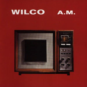 Wilco album AM on black Vinyl LP from Bingo Merch Official Merchandise