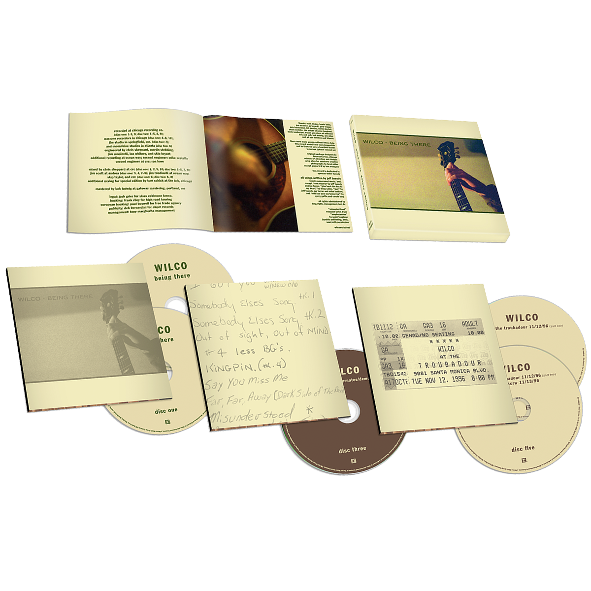 Being There Deluxe Edition (5CD)