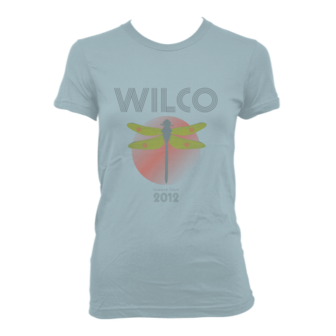 Wilco Dragonfly design on a blue Girls Tshirt from Bingo Merch Official Merchandise