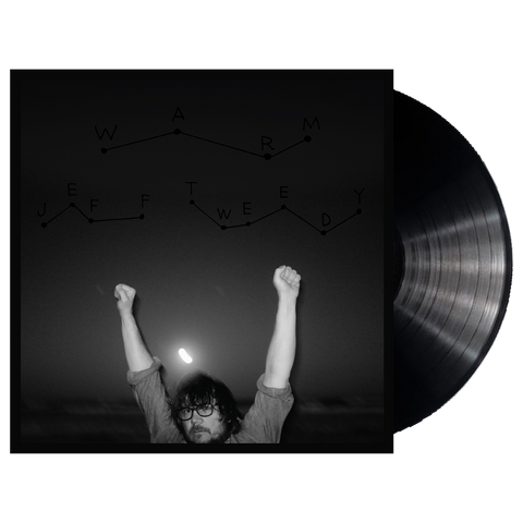 Jeff Tweedy album WARM on black Vinyl LP from Bingo Merch Official Merchandise