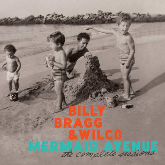 Wilco and Billy Bragg Mermaid Avenue albums 1,2,3 on CD from Bingo Merch Official Merchandise