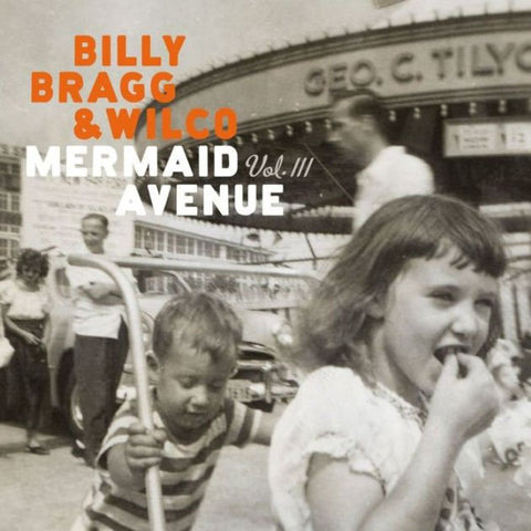 Wilco and Billy Bragg Mermaid Avenue Volume 3 on black Vinyl LP from Bingo Merch Official Merchandise