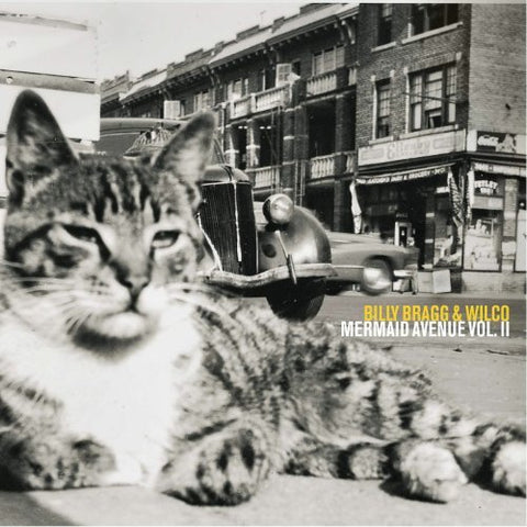 Wilco and Billy Bragg Mermaid Avenue Volume 2 on black Vinyl LP from Bingo Merch Official Merchandise