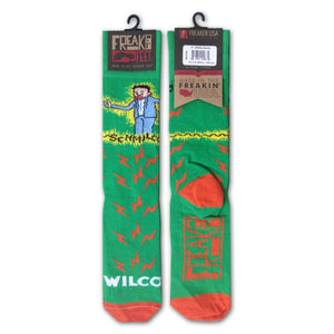 Wilco Schmilco album artwork Socks from Bingo Merch Official Merchandise