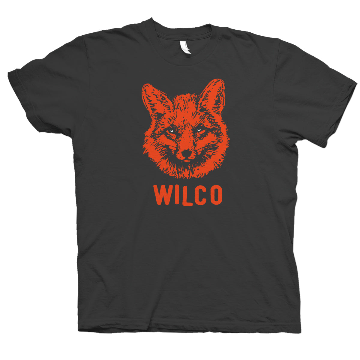 Wilco Fox design on a grey Tshirt from Bingo Merch Official Merchandise